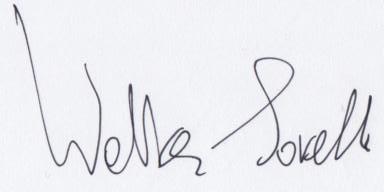 Autografo Walter Savelli