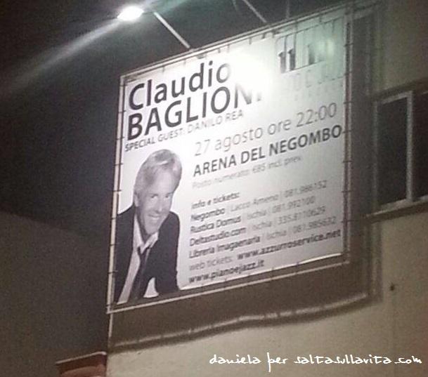 Claudio Baglioni a Ischia il 27 Agosto