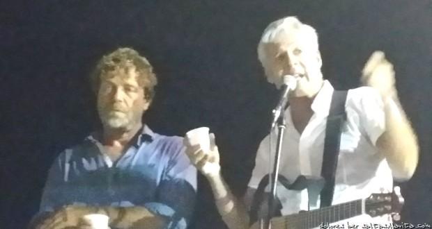21 Settembre 2014 Claudio Baglioni e Massimo Ciavarro a Lampedusa  0041