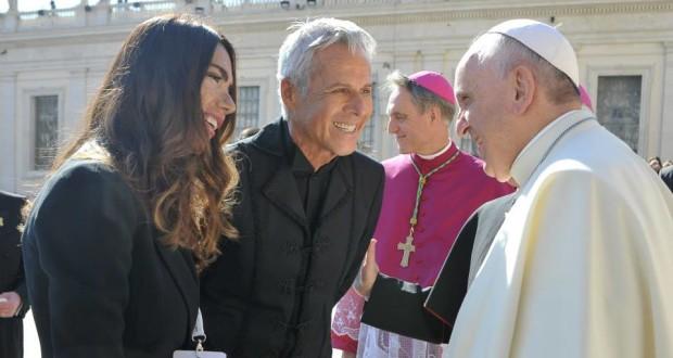 Domenica 28 settembre 2014 Claudio Baglioni a Piazza San Pietro (1)