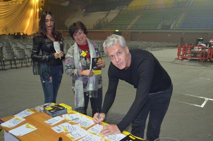 03 novembre 2014 Claudio Baglioni a Mantova per Amsety International