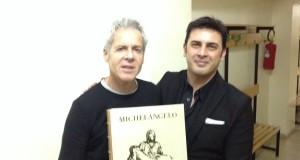 21 Novembre 2014 Claudio Baglioni a Barletta con Stefano Del Bravo 2