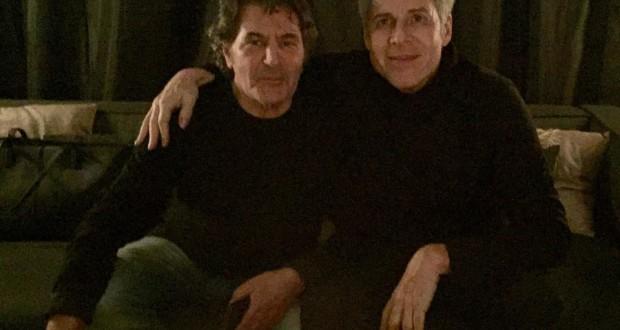 17 Dicembre 2014 Claudio Baglioni e Fausto Leali a Milano   0002