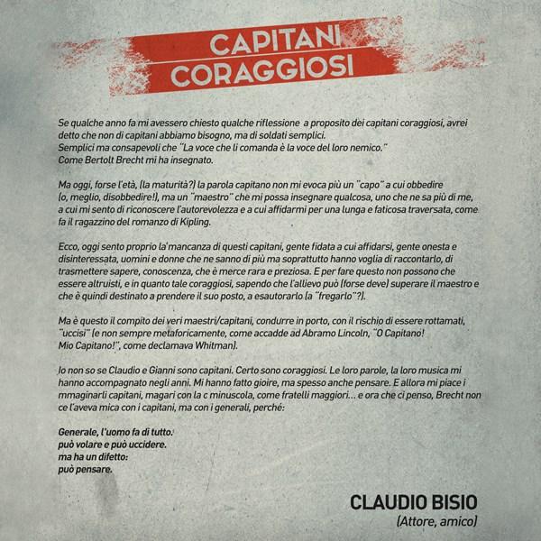 Claudio Bisio - Capitani Coraggiosi