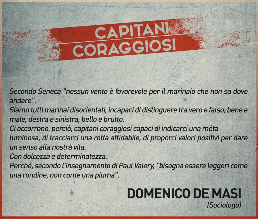 Domenico De Masi - Capitani coraggiosi