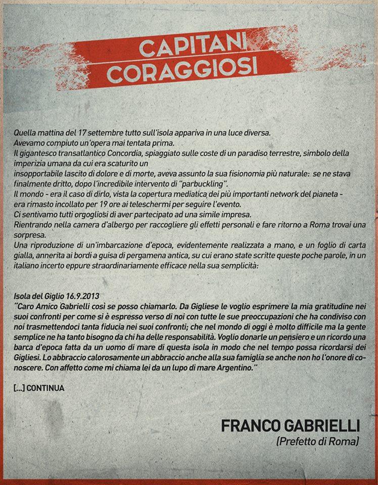 Franco Gabrielli - Capitani coraggiosi