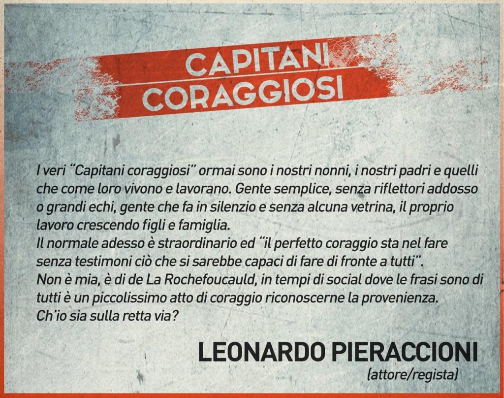Leonardo Pieraccioni - Capitani coraggiosi