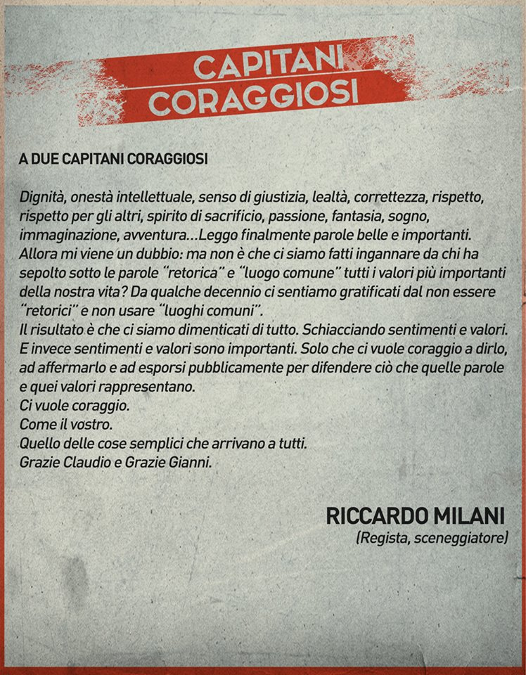 Riccardo Milani-Capitani Coraggiosi