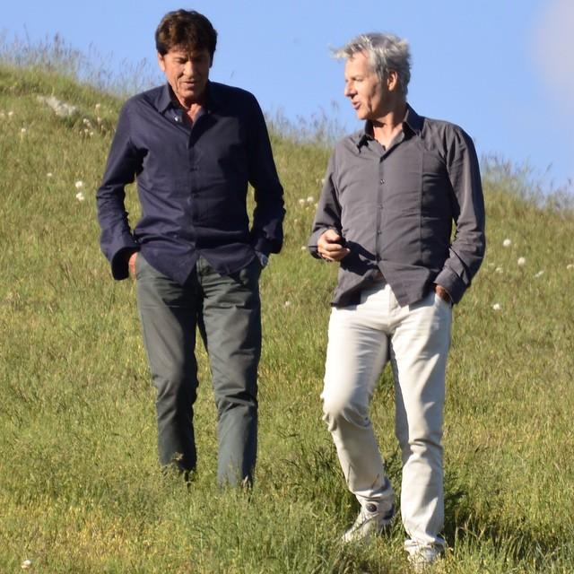 6 Giugno 2015 Claudio Baglioni e Gianni Morandi a Norcia  0012