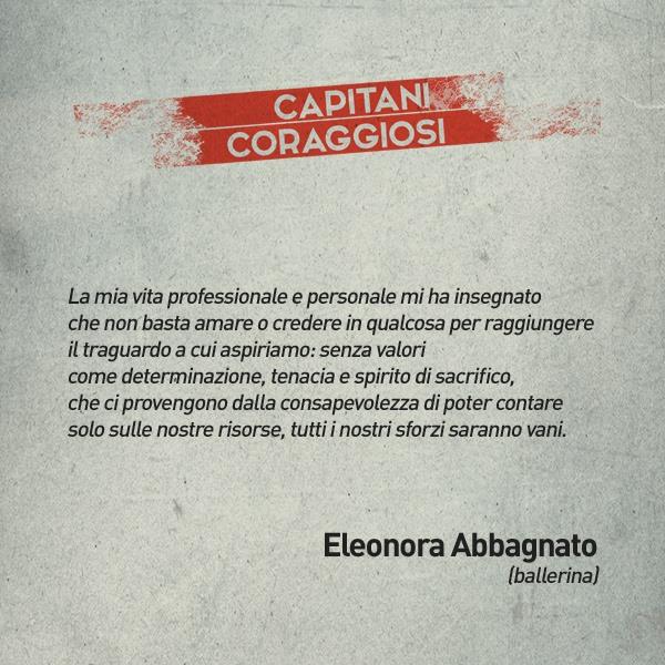 Eleonora Abbagnato - Capitani coraggiosi