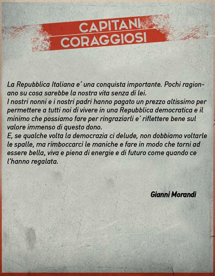 Gianni Morandi - Capitani Coraggiosi