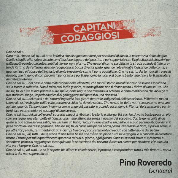Pino Roveredo - Capitani coraggiosi