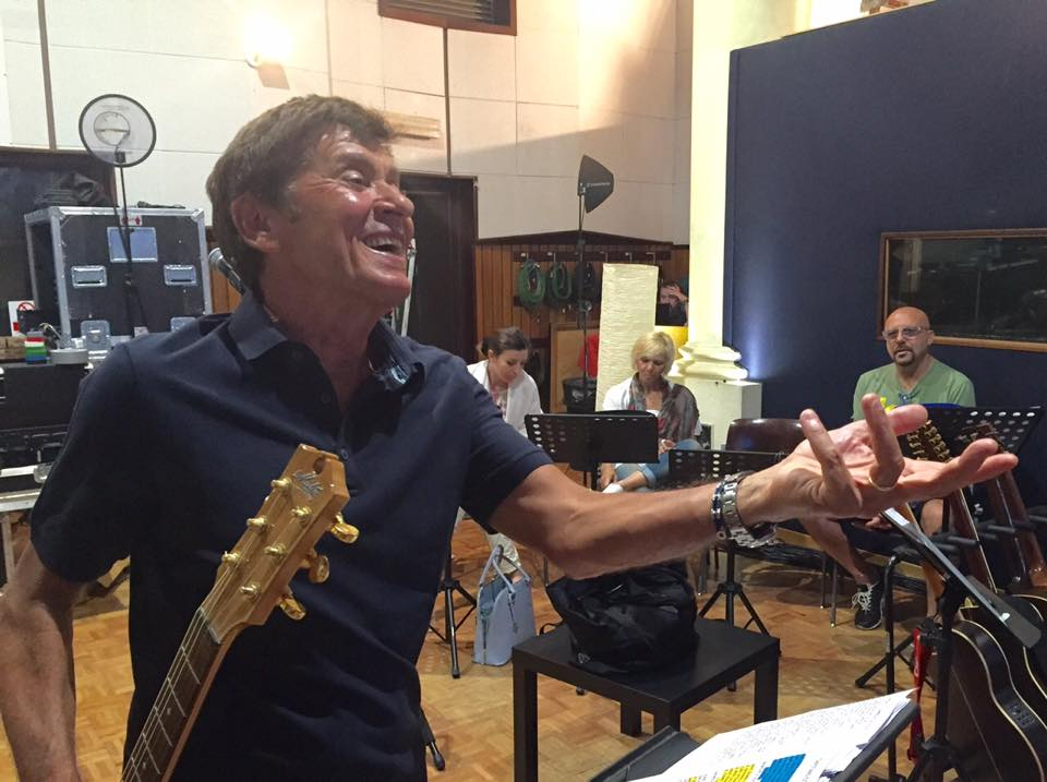 13 Luglio 2015 Gianni Morandi in sala prove