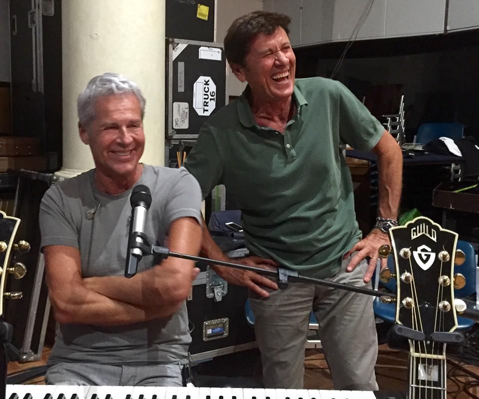 15 luglio 2015 Claudio Baglioni e Gianni Morandi PROVE