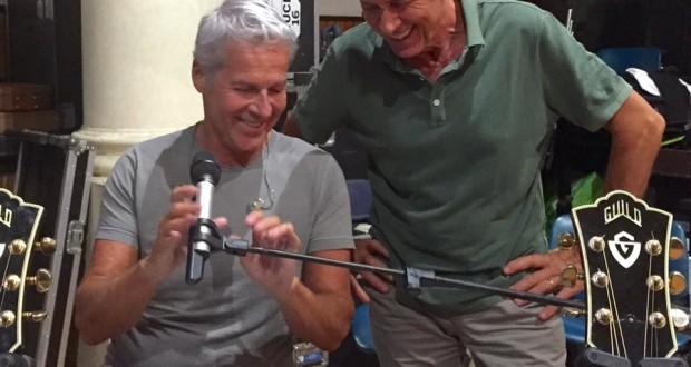 16 Luglio 2015 Claudio Baglioni e Gianni Morandi prove ROMA