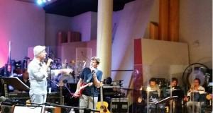 22 luglio 2015 Claudio Baglioni e Gianni Morandi PROVE ROMA