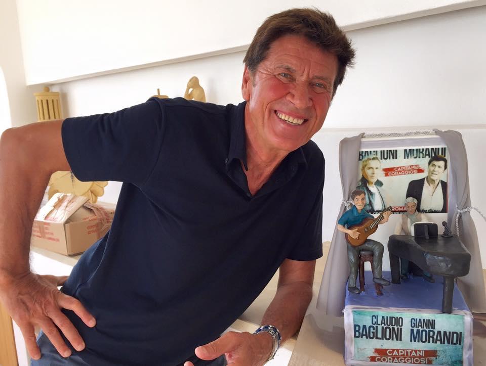 20 Agosto 2015 un dolce per Claudio Baglioni e Gianni Morandi