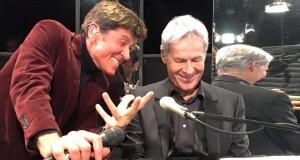 29 Gennaio 2016 Claudio Baglioni e Gianni Morandi
