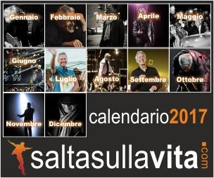 Calendario Claudio Baglioni 2017