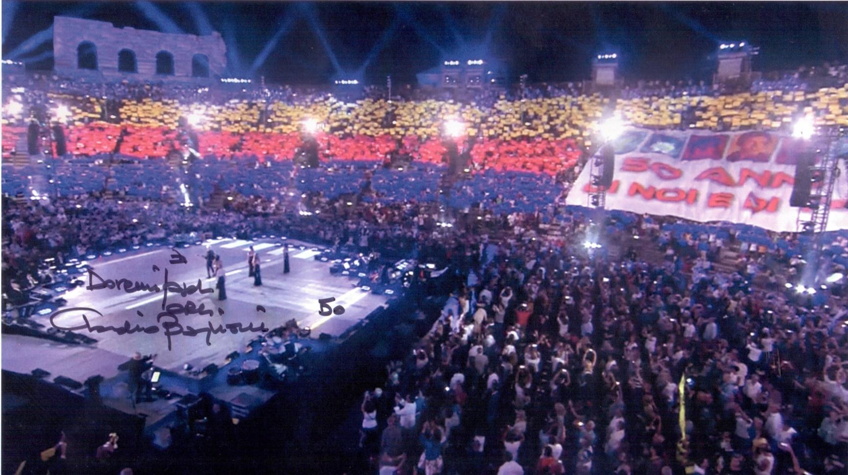 Calendario Arena Verona 2020.Claudio Baglioni Arena Di Verona Replica Su Rai 1