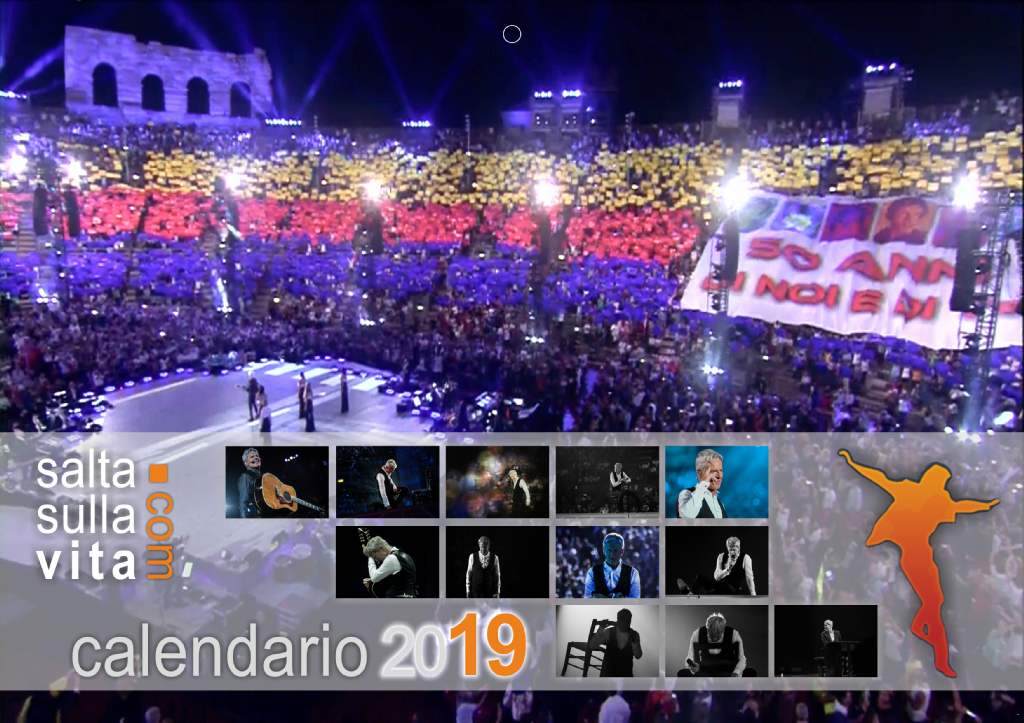 Calendario Anno 1974.Calendario Claudio Baglioni 2019 Doremifasol Org