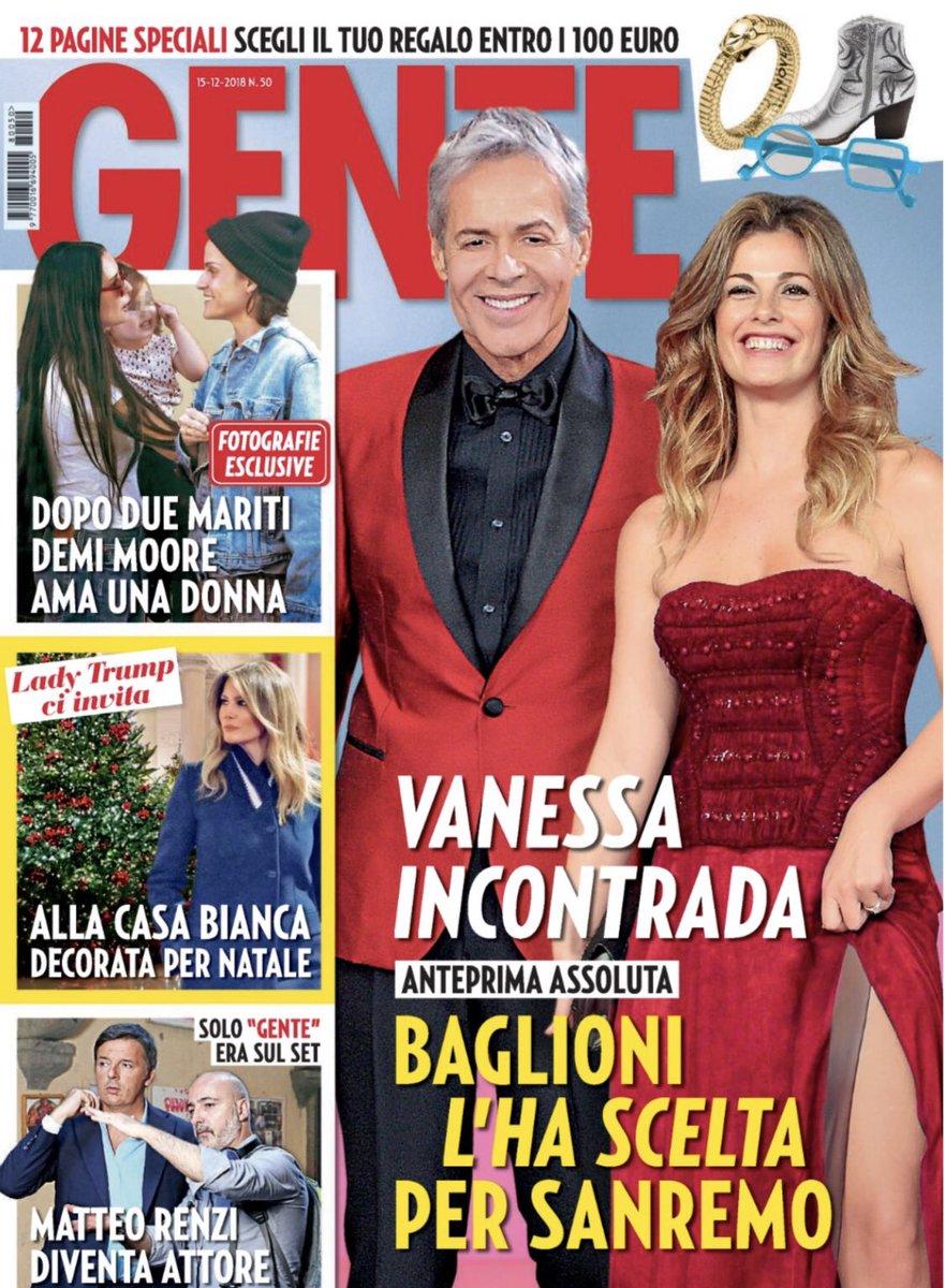 Calendario Vanessa Incontrada.Vanessa Incontrada Con Baglioni A Sanremo Doremifasol Org