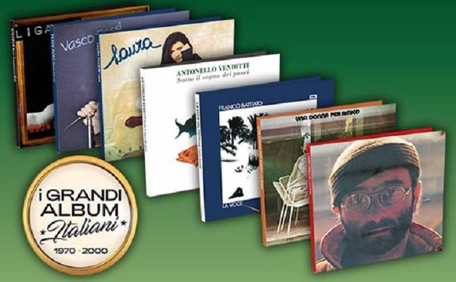 """Anche Baglioni per """"I Grandi album Italiani"""" – doremifasol.org"""